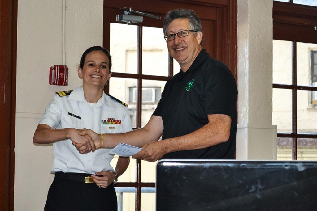 Admiral Farragut Check From Sari Schlossberg Deitche