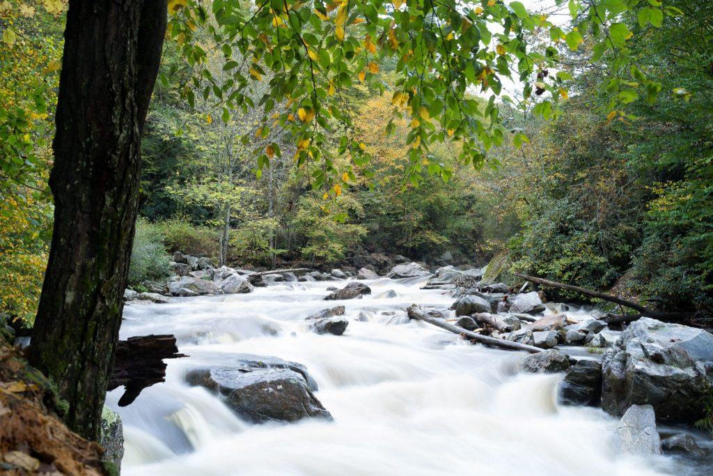 cullasaja river highlands nc