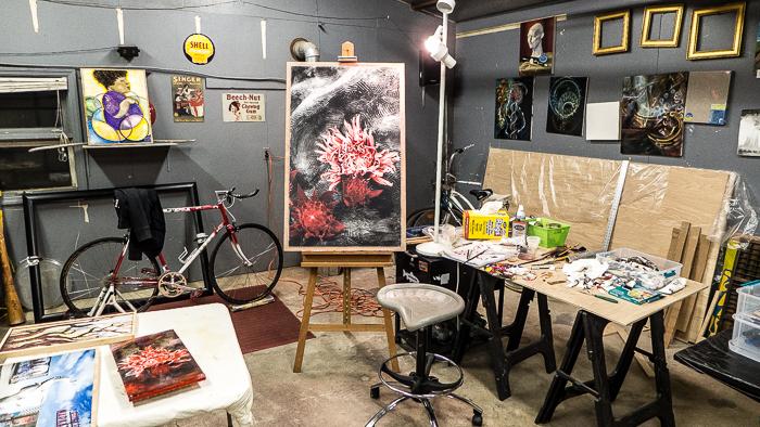 bowen imagery garage studio