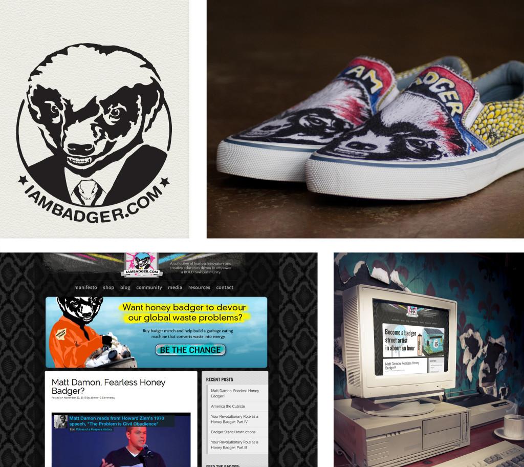 iambadger showcase for branding and website